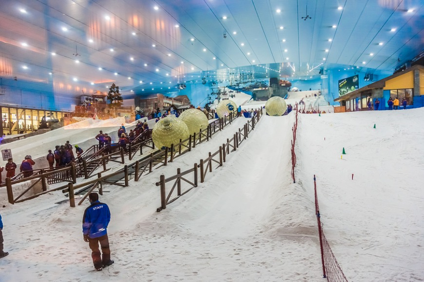 The best Dubai tourist attractions: Ski Dubai